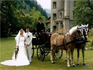 Kutschenfahrten Steiermark Hochzeit